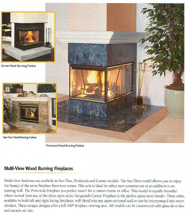 Vanguard foyer au bois a clairance z ro for Fournaise au bois exterieur